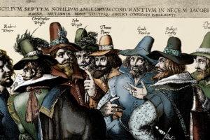 Guy Fawkes  - artykuł po angielsku z wyjaśnieniem słówek