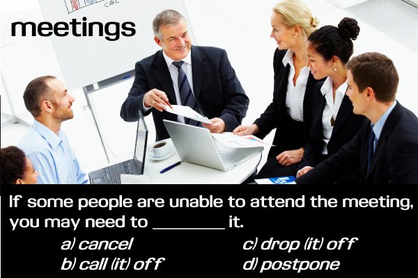 business english - meetings